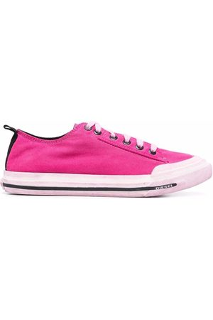 Diesel Women Sneakers - S-Astico low-top lace-up sneakers