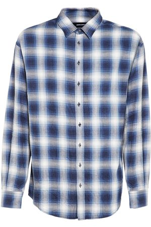 Dsquared2 Men Shirts - Check Cotton Shirt