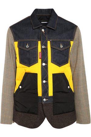 Dsquared2 Denim, Wool & Nylon Blazer