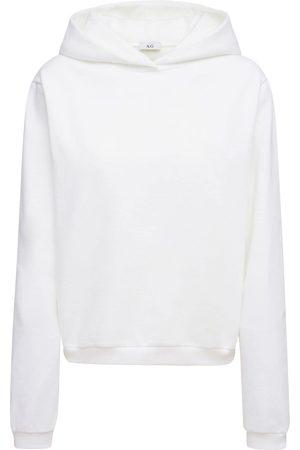 AG Women Hoodies - Cotton Sweatshirt Hoodie