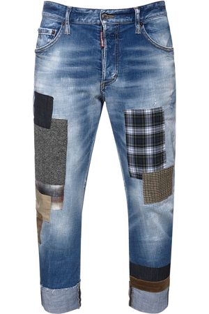 Dsquared2 17.5cm Sailor Cotton Denim Jeans