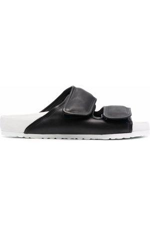 Birkenstock Men Sandals - Two-tone touch-strap sandals