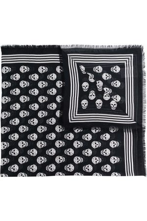 Alexander McQueen Women Scarves - Skull-print scarf