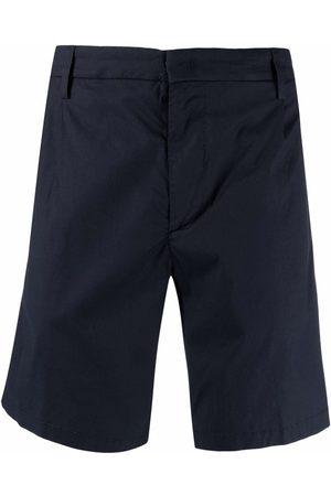 Dondup Men Bermudas - Straight-cut chino shorts