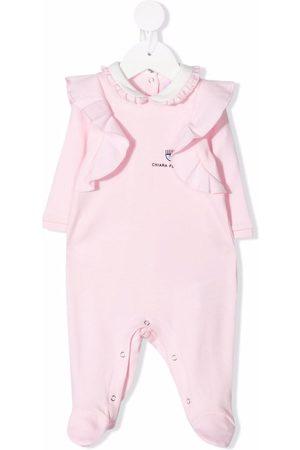 Chiara Ferragni Logo-embroidered cotton pyjamas