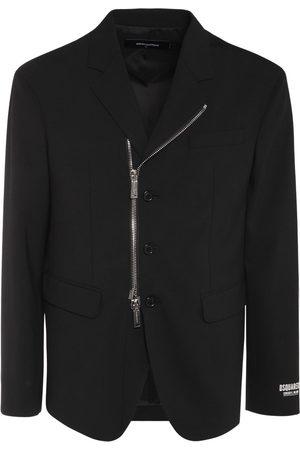 Dsquared2 Ceresio 9 Stretch Cool Wool Zip Blazer