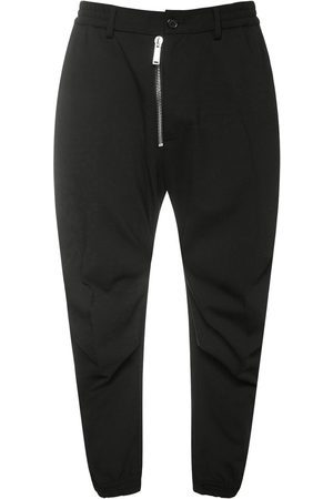 Dsquared2 Men Stretch Pants - Ceresio 9 Stretch Wool Combat Pants