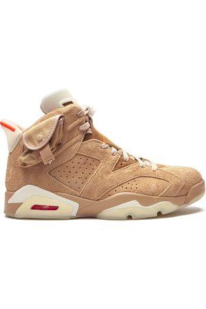 "Jordan Men Sneakers - Air 6 Retro ""Travis Scott - British Khaki"" sneakers - Neutrals"