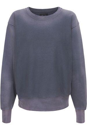 Les Tien Women Sweatshirts - Gradient Cotton Sweatshirt