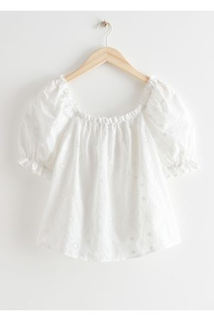 & OTHER STORIES Frilled Puff Sleeve Blouse