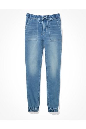 American Eagle Outfitters Next Level High-Waisted Jegging Jogger Women's 4 Regular