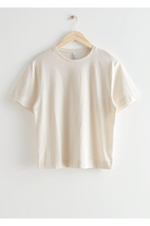 & OTHER STORIES Relaxed Washed Crewneck T-Shirt