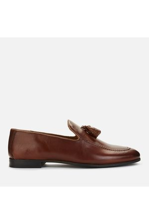 WALK LONDON Men Loafers - Men's Terry Leather Loafers