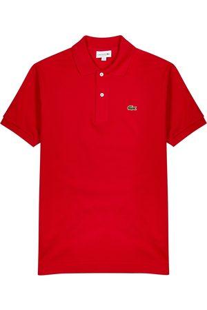 Lacoste Piqué cotton polo shirt