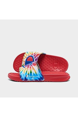 Champion Little Kids' Tie-Dye Slide Sandals Size 1.0