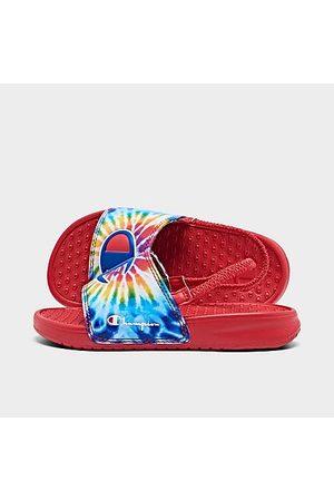 Champion Kids' Toddler Tie-Dye Sandals Size 4.0