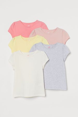H&M 5-pack Puff-sleeved Tops