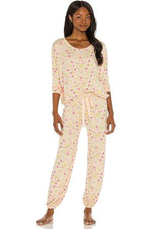 Eberjey Women Nightdresses & Shirts - X REVOLVE Gisele Printed Slouchy Set in Pink.