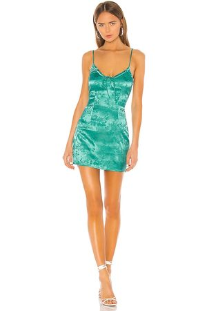 superdown Andy Mini Dress in Teal.