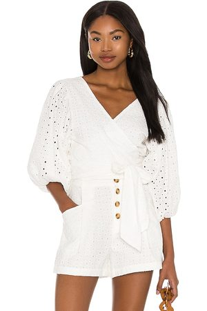 L*Space Amalfi Top in White.