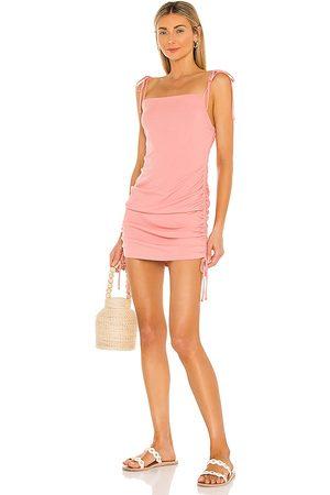 Steve Madden Give Em a Cinch Dress in Blush.