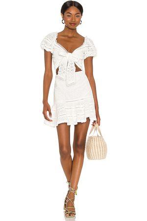 V. Chapman Praline Mini Dress in .
