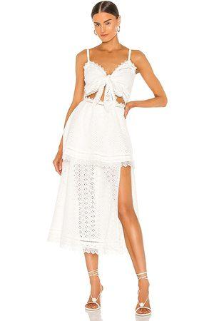 V. Chapman Panna Cotta Maxi Dress in .
