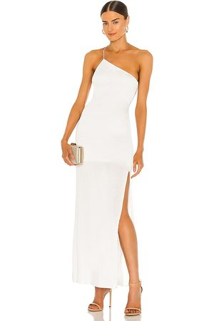 GAUGE81 Beja Gown in Ivory.