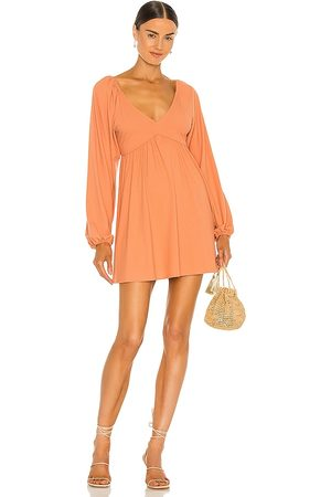 Lovers + Friends Giorgia Dress in Peach.