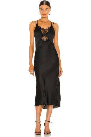 Weekend Stories Lace Midi Slip dress in .
