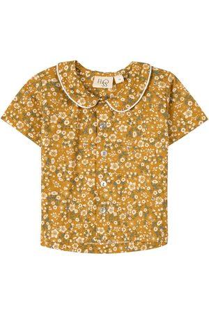 Flöss Kids - Ava Ss Shirt Bloomy - Girl - 104 cm (3-4 Years) - - Blouses