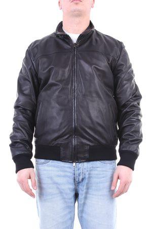 VOLFAGLI Leather jackets Men