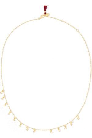 Shashi Woman 18-karat Vermeil Crystal Necklace Size