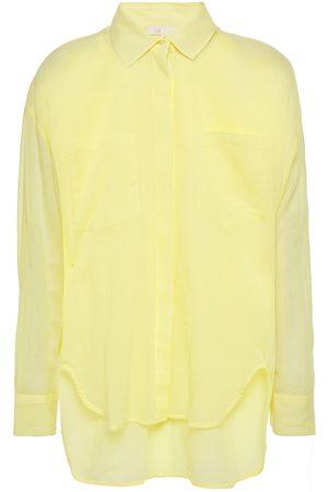 Maje Woman Cazelle Cotton Shirt Pastel Size 1