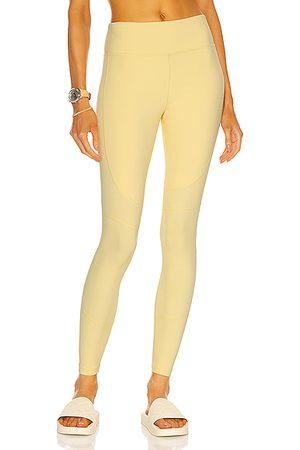 ALALA Vamp Tight Legging in Yellow