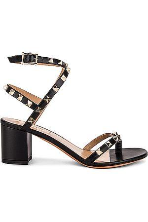 VALENTINO GARAVANI Rockstud Thong Sandals in