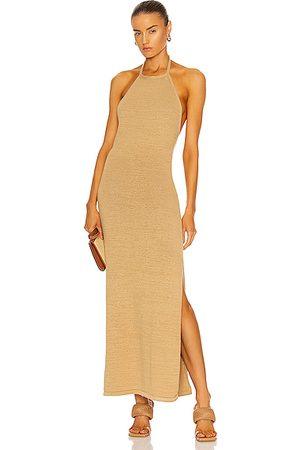 Cult Gaia Karina Dress in Tan
