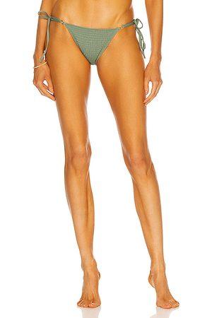 Palm Talise Bikini Bottom in Olive