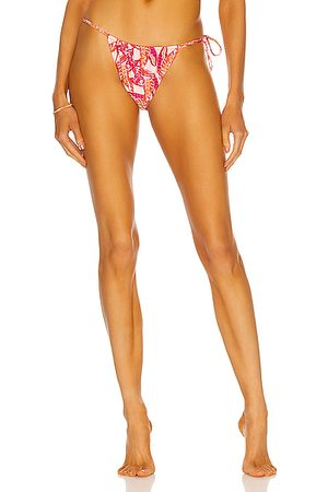 Palm Viper Bikini Bottom in Pink