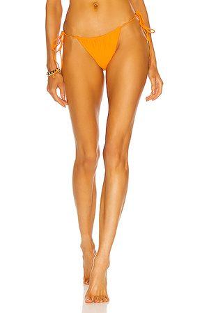 Jade Swim Lana Bikini Bottom in Orange