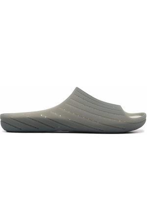 Camper Men Slippers - Wabi open toe slippers - Grey