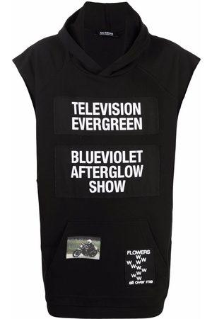 RAF SIMONS Men Hoodies - Television Evergreen sleeveless hoodie