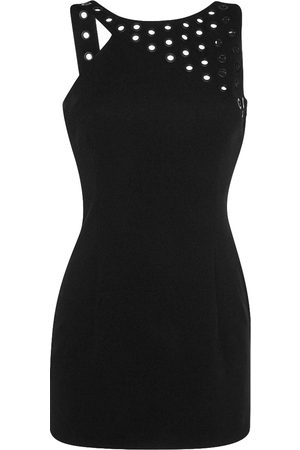 Anthony Vaccarello Women Dresses - \N Leather Dress for Women