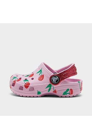 Crocs Girls' Toddler Classic Clog Shoes in / Size 4.0