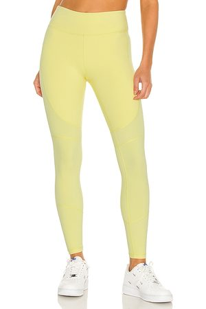ALALA Women Sports Leggings - Vamp Tight in Yellow.