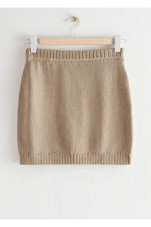 & OTHER STORIES Women Mini Skirts - Knitted Mini Skirt