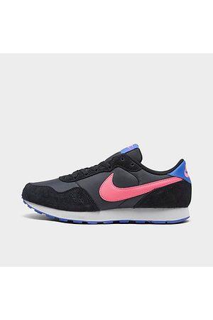 Nike Girls' Big Kids' MD Valiant Casual Shoes in Grey/Dark Smoke Grey Size 3.5 Suede
