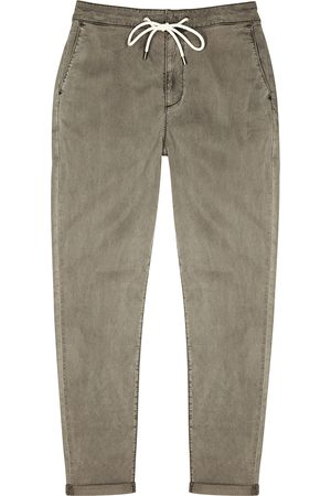 Paige Men Stretch - Fraser grey stretch-Lyocell trousers