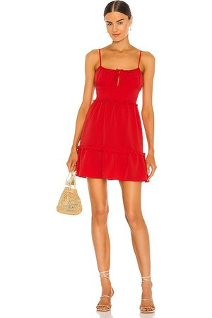 BCBGeneration Crinkle Poly Dress in .