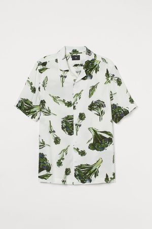 H&M Patterned Resort Shirt